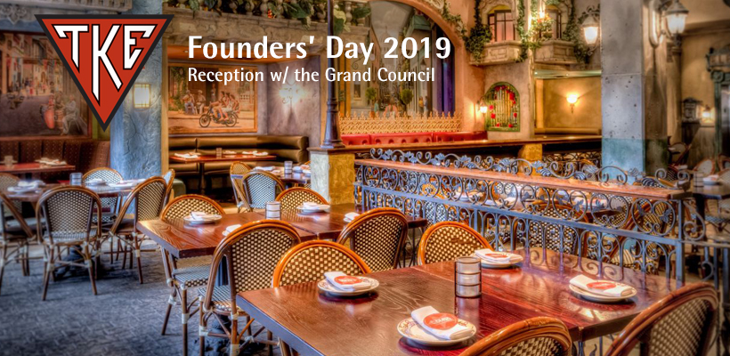 Founders' Day Reception w/ the Grand Council
