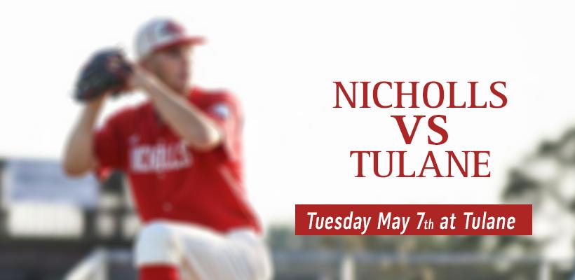Nicholls vs Tulane Baseball Game