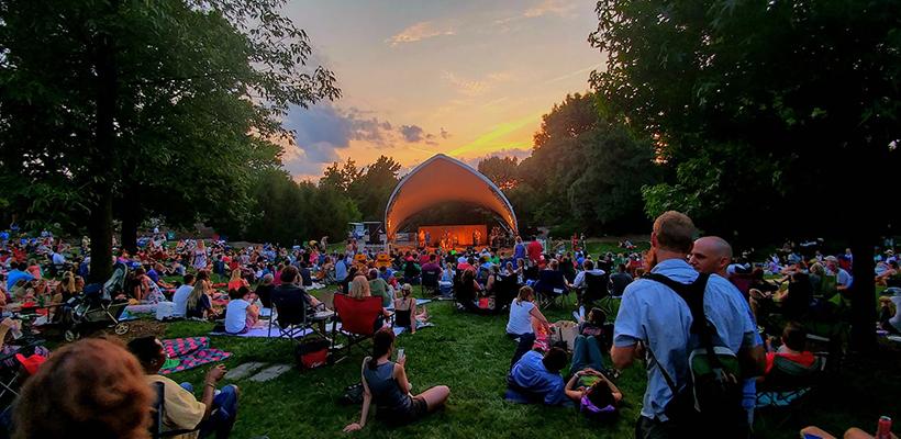 TKE Meet Up at the Whitaker Music Festival - Missouri Botanical Garden