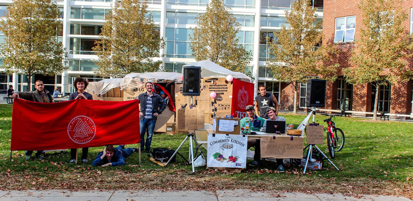 Keene State Tekes Raise Awareness for Homelessness