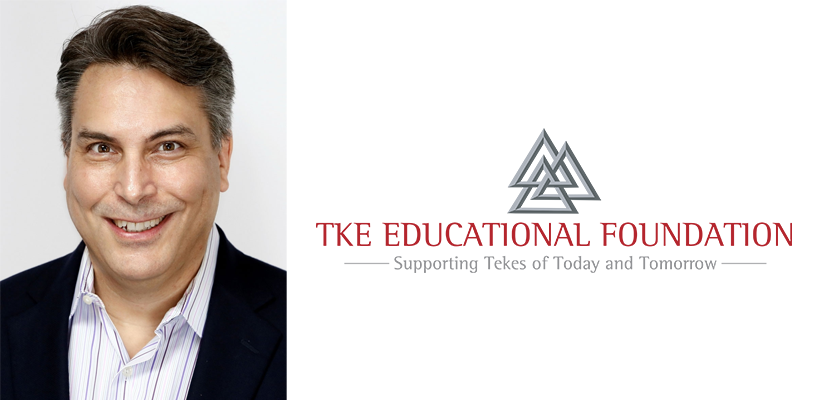 Frater David Bohline joins the TKE Educational Foundation