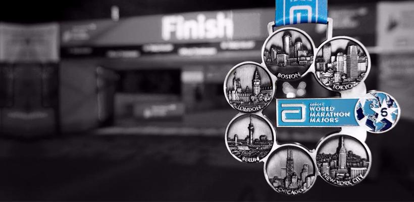 Frater completes the World Marathon Majors