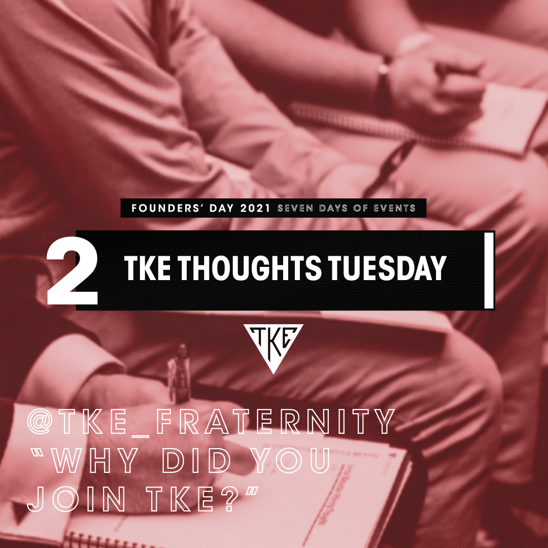 TKE Thoughts Tuesday