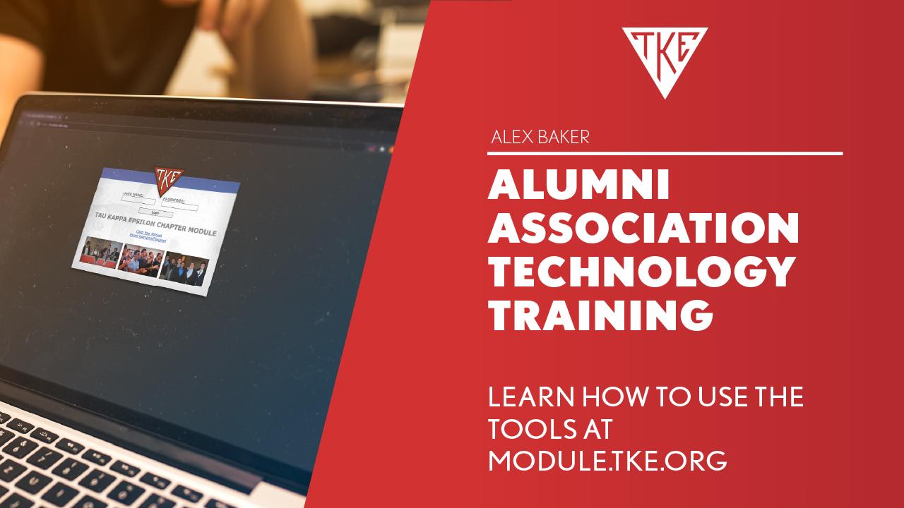 Alumni Association Officer Training - Chapter Module Training