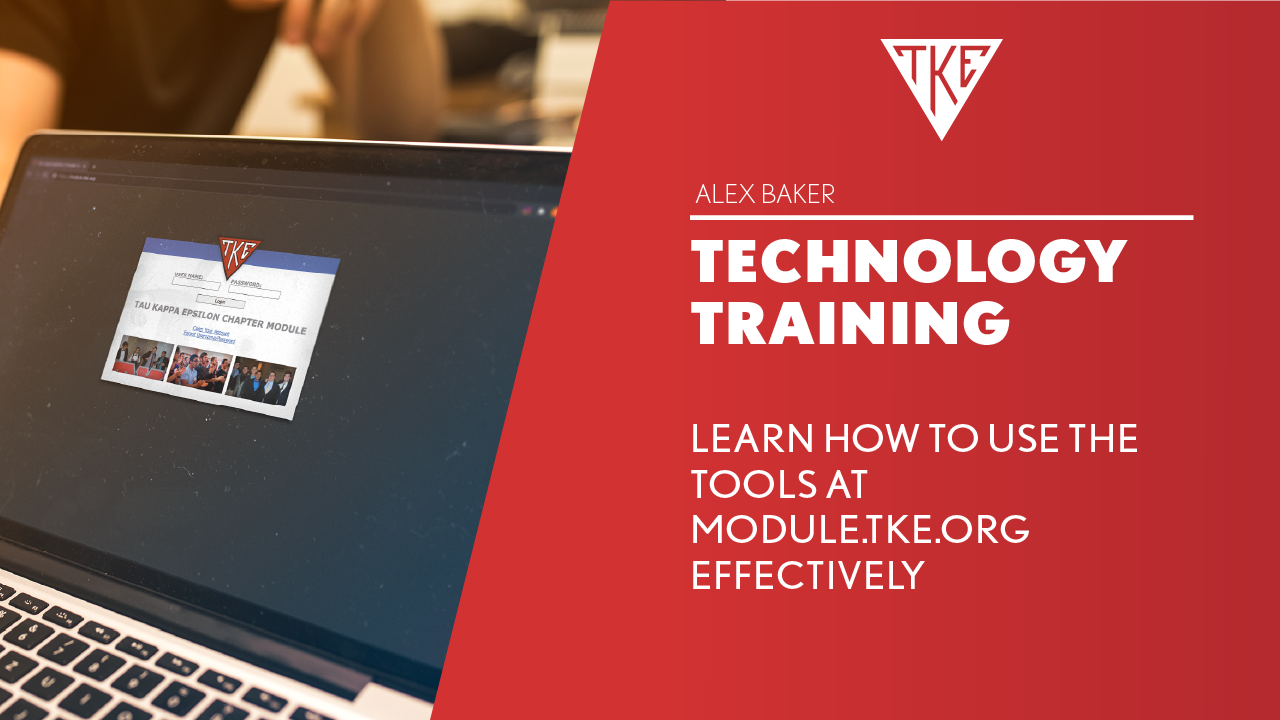Officer/Volunteer Training - Chapter Module Training