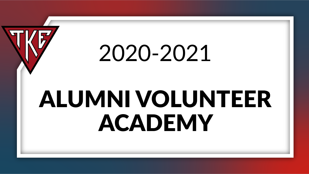 Alumni Volunteer Academy 2020-2021
