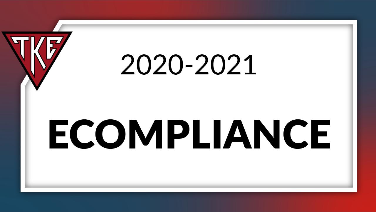 eCompliance 2020-2021