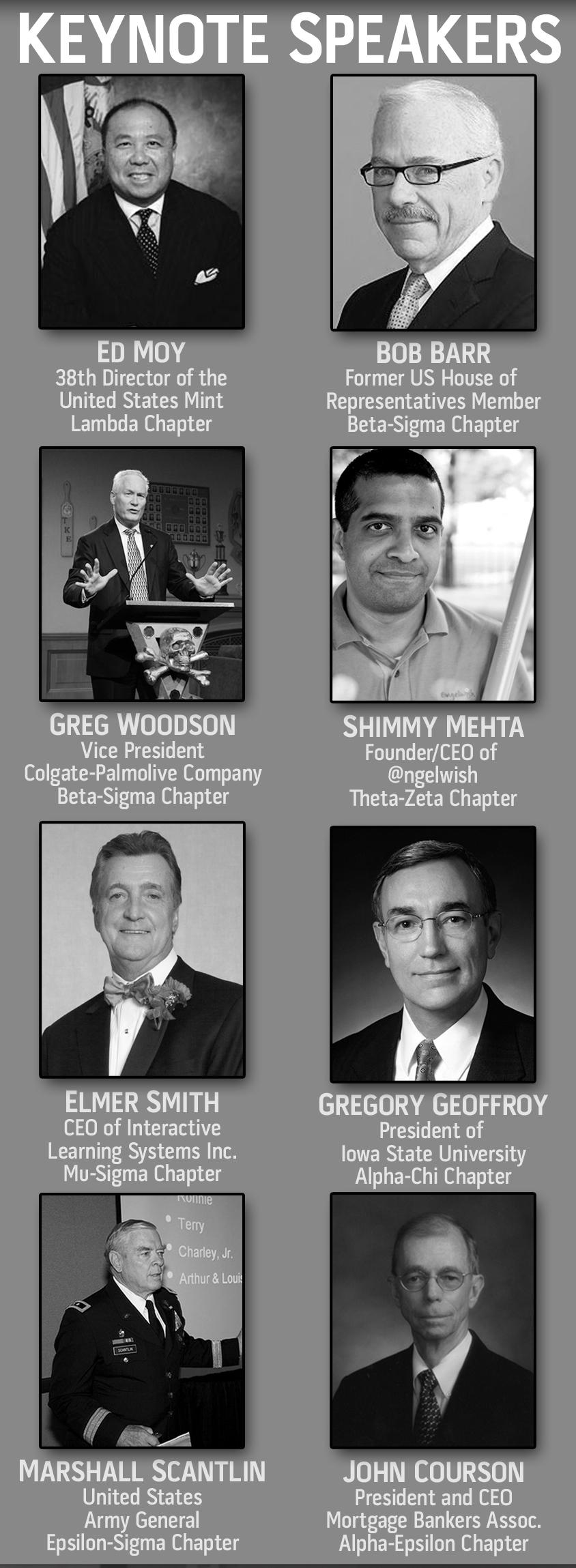RLC 2012 Speakers