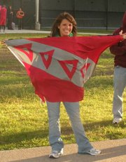 Upsilon-Delta Sweetheart Angela Seeley Promotes TKE Week