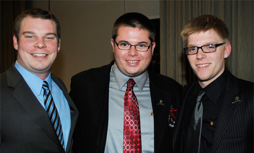 Fraters represent at Legends of Charity Dinner