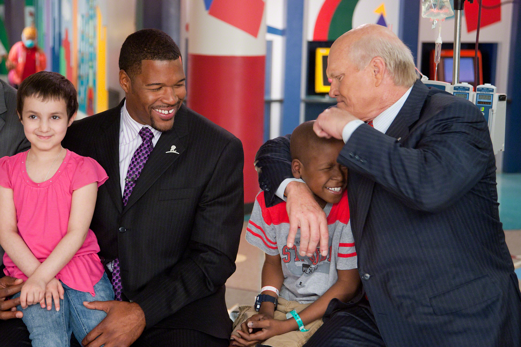 Frater Terry Bradshaw with Markell