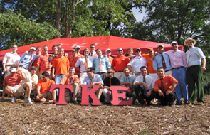 Fraters at Sigma-Psi (Clemson Univ.)