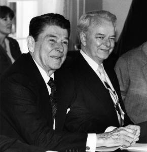 Frater Byrd with Frater Reagan
