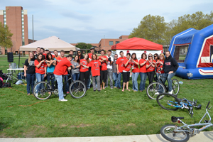 IUPUI Fraters Ride for St. Jude