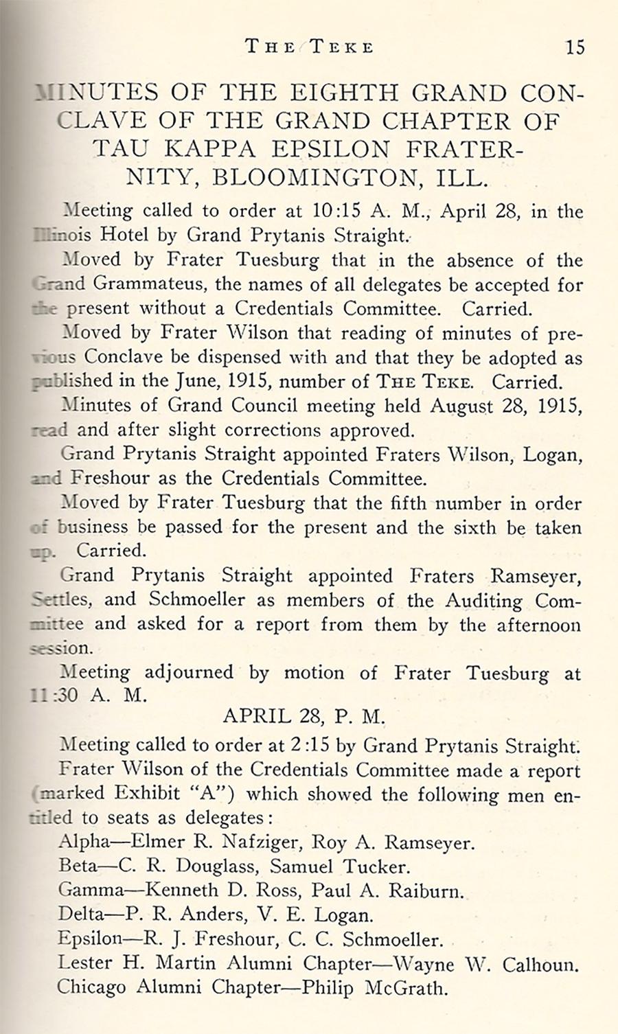 Conclave 1916