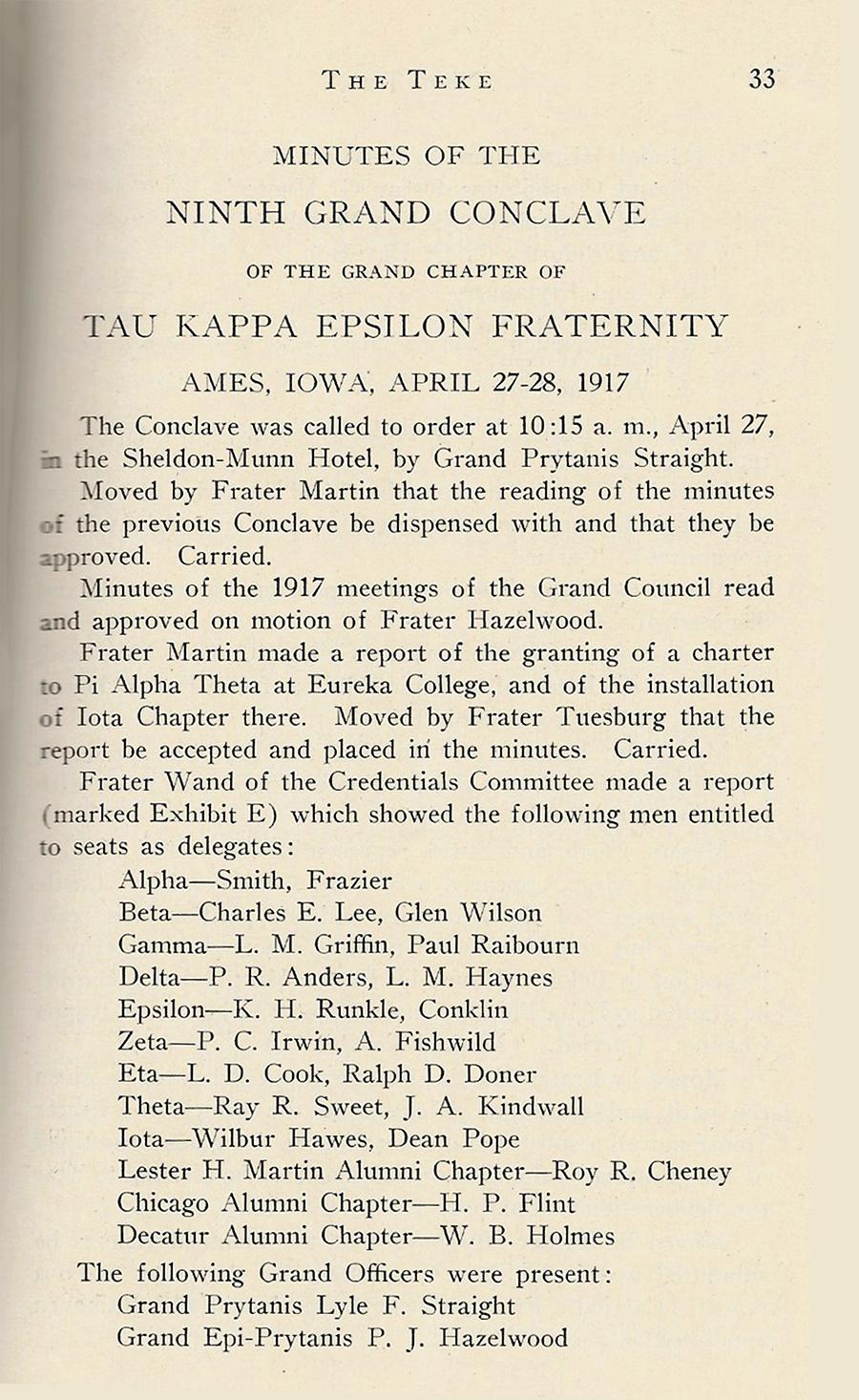 Conclave 1917