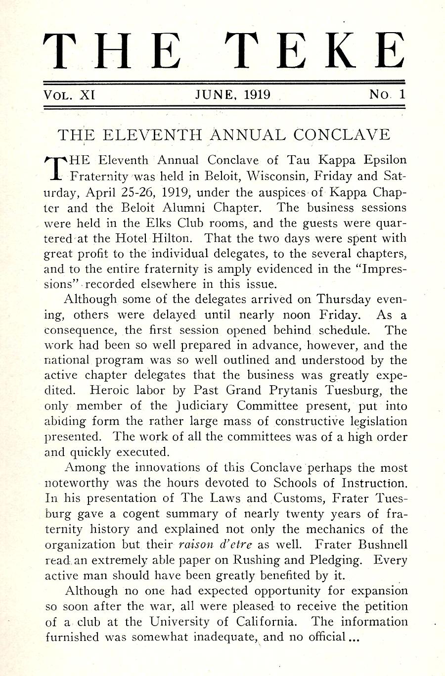Conclave 1919