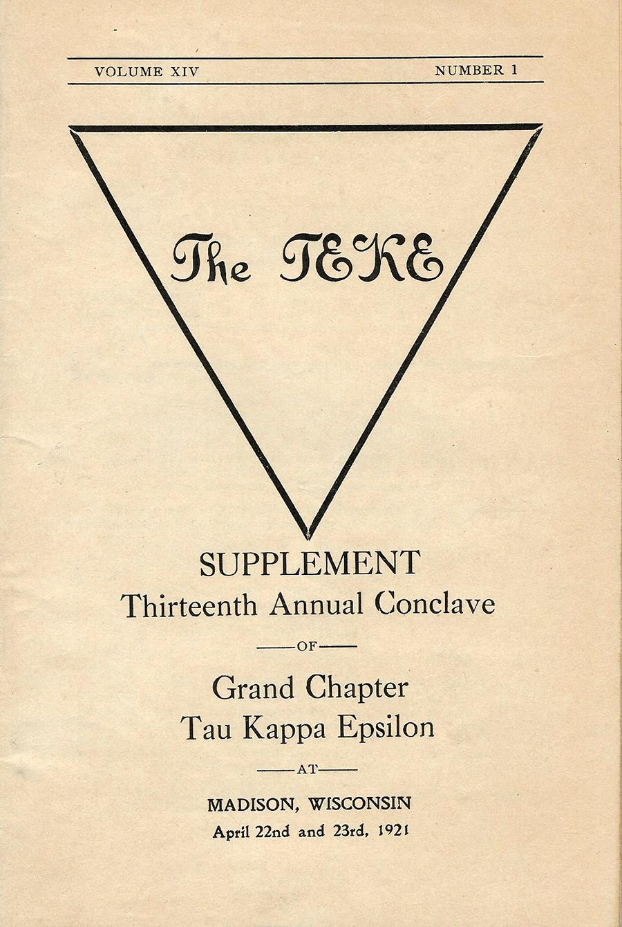Conclave 1921