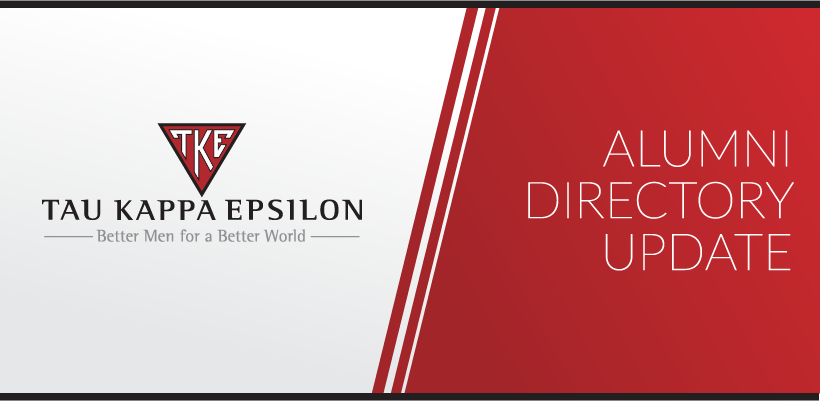 Tau Kappa Epsilon Partners with Publishing Concepts (PCI) for Alumni Directory