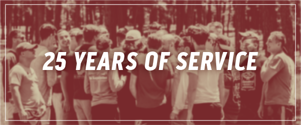 Twenty Five Years of Service