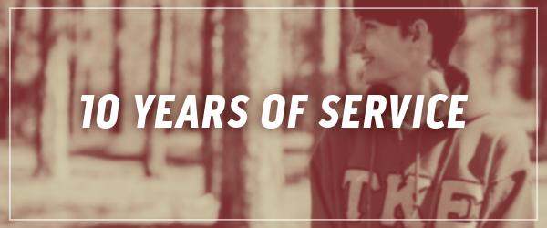 Ten Years of Service