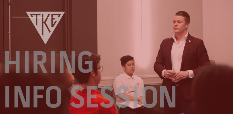 TKE Professional Staff Hiring Info Session