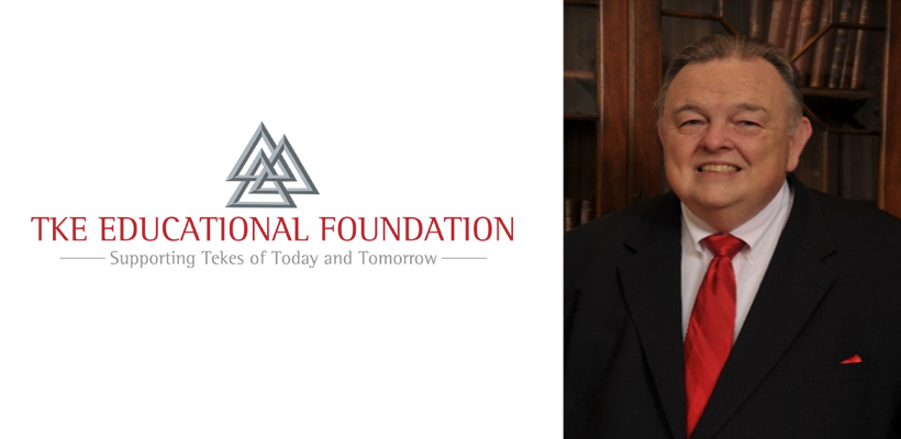 Frater Bob Planck Appointed TKE Educational Foundation Business Council Chairman