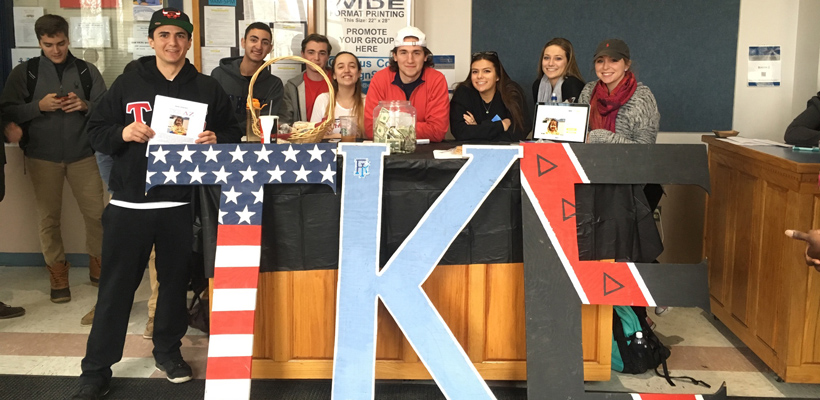 Alpha-Rho Tekes Show Support for Local Family