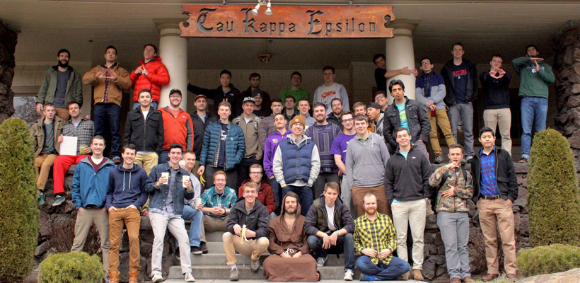 Whitman College Tekes Take a Stand Against Sexual Violence