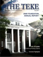 The Teke - Spring 2009 - Vol. 102 Issue 2